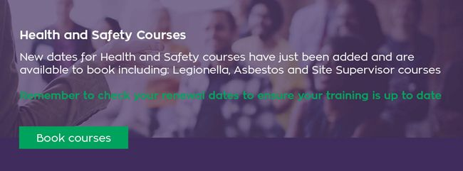 New dates added for Health & Safety training
