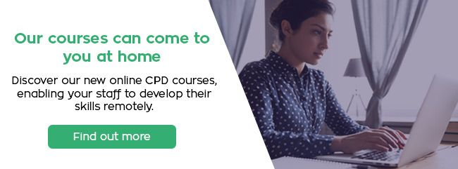 Our courses can come to you at home
