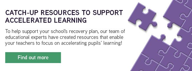 Catch-up resources to support accelerated learning