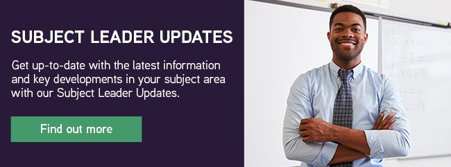 Subject Leader Updates